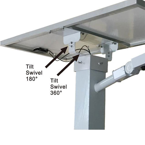 Adjustable mounting